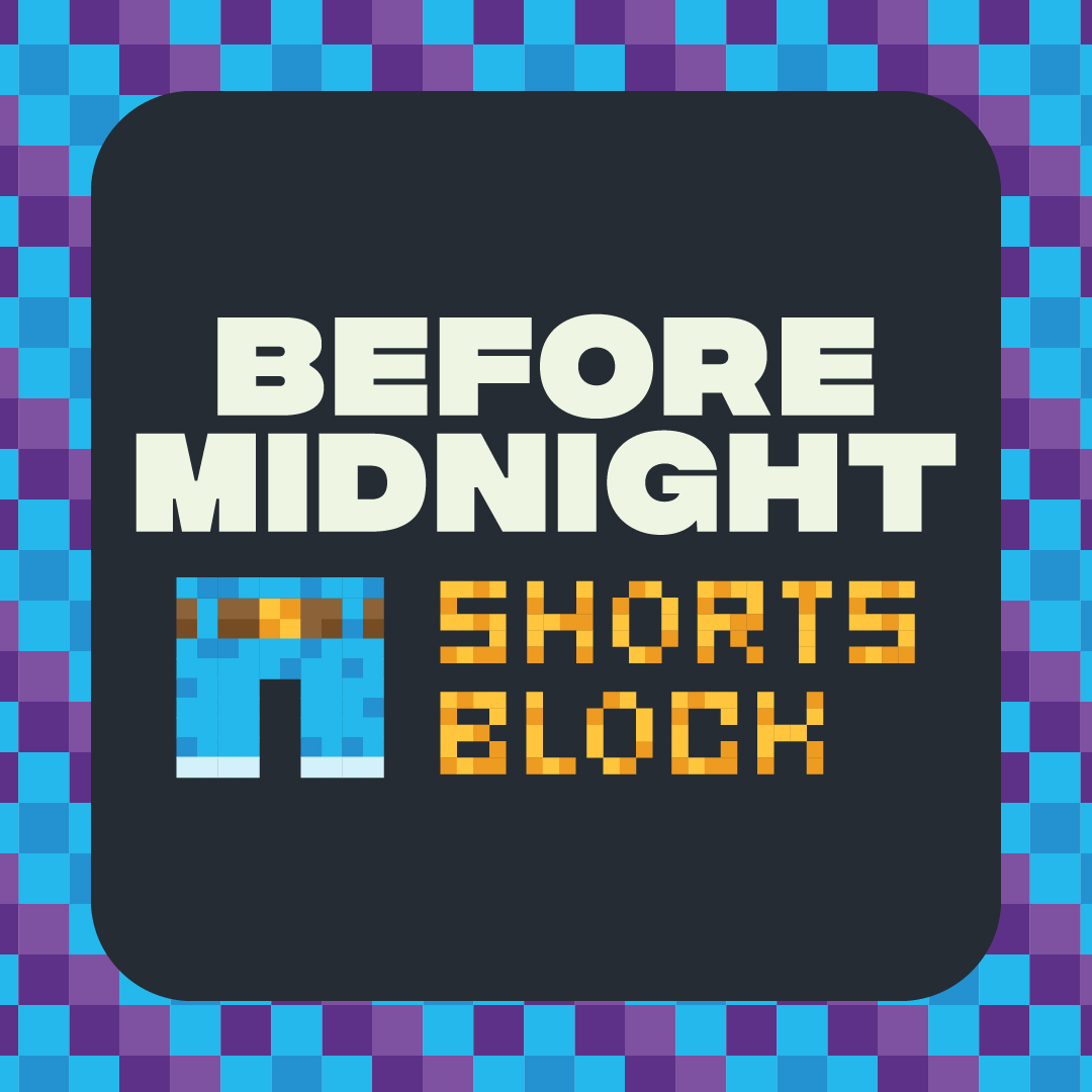 Before Midnight Shorts Block