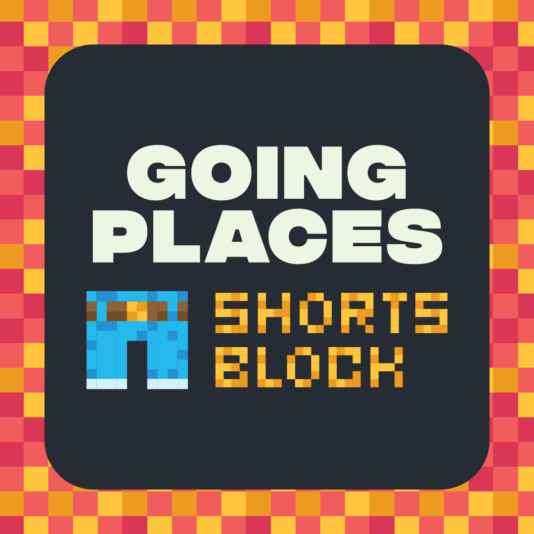 Going Places Shorts Block